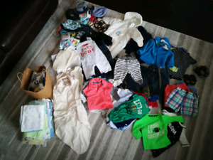 Baby Clothes - Boys 6 to 12 months