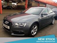 2013 AUDI A5 2.0 TDIe 136 SE [5 Seat] Leather 1 Owner Parksensors Cruise