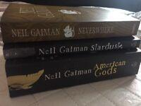 Neil Gaiman bundle - excellent condition