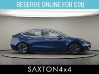 2020 Tesla Model 3 Dual Motor Long Range Auto 4WDE 4dr Saloon Electric Automatic