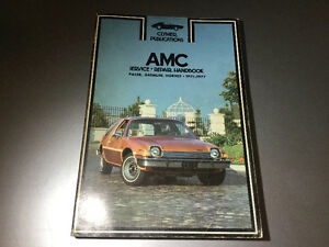 1971-1977 AMC Pacer X Gremlin Hornet Shop Manual 304 V8