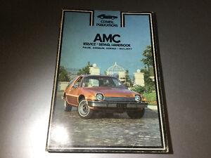 1971-1977 AMC Pacer X Gremlin Hornet Shop Manual American Motors