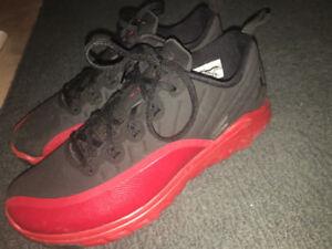 Red and Black Jordan's