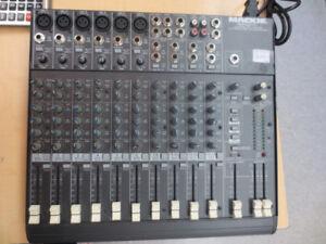 Mackie mixer amp
