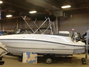 20ft. 2018 Bayliner-150 Mercury with trailer for sale