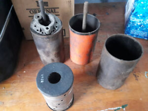 Small block Chevy Steel oil canisters