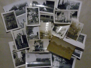 180 Old Vintage Black and White Photos