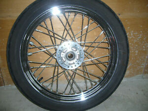 Roues 16'' &19'' à rayons pour Sportster/Dyna OEM laced wheels