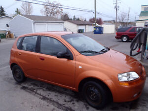 2005 Pontiac Wave Hatchback 135,000km