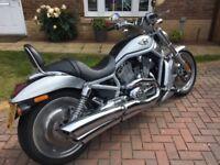 2002 Harley Davidson V-Rod VRSCA Motorbike 100th anniversary edition