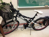 A Schwinn mountain bicycle. In good condition