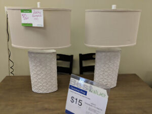 ASHLEY LAMP (S) REDUCED TO CLEAR!!! STARTING AT 125.00 + TAX