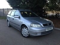 2003 Astra Club 1.6 Auto 12 months M.O.T
