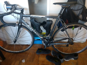 Cannondale (Dura-Ace) with Quarq Power Meter & Garmin Edge