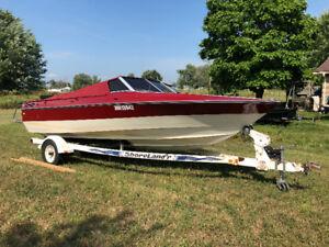 Lower Price Boat For Sale - 1989 Edison w/ 2004 4.3 Merc inboard
