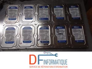 Lot 10x Disque durs Western Digital Blue 250 GB