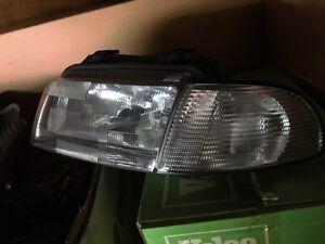 B5 Audi A4 parts headlights, grill signals