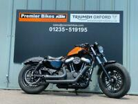 HARLEY DAVIDSON XL 1200 X FORTY EIGHT CUSTOM CRUISER MOTORCYCLE