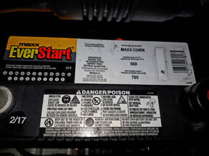 Car Battery 12v  Maxx Ever Start (cold Cranking Amps)