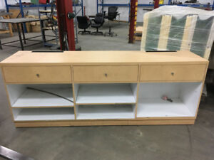 Large Cabinet w/ Drawers and Shelves.