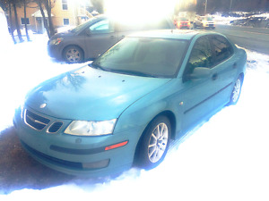 SAAB 9-3 2004  impecable  Turbo 2.0l 166000 km  cuir full equipe