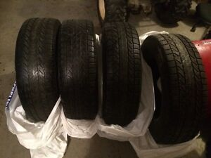 4  225/70 r 16 winter tires