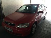 2001 VAUXHALL ASTRA 1.8 SRI 16 V SPARES OR REPAIR NO MOT