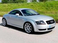 VERY LOW MILEAGE AUDI TT 1.8T QUATTRO (225) | ONLY 67000 MILES | 14 SERVICES