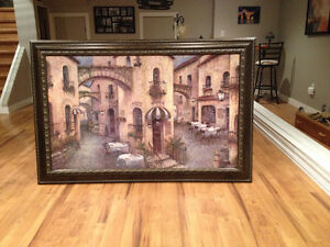Giant Canvas painting