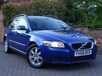 2008 08 Volvo V50 2.0D S Estate..NICE COLOUR COMBO..DRIVES VERY WELL !!
