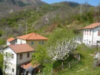 Italy Farmstead on Tuscany Liguria border with approx 2ha land