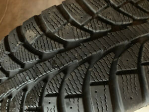 Winter Tires 215-55-R17 with Rims