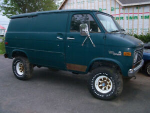WANTED 4X4 VAN WANTED