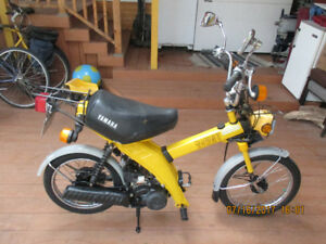 Scooter, Mobylette, Moped antique Yamaha Towny MJ 50 (échange)
