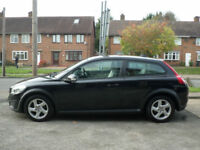 2010 Volvo C30 1.6 ES 2DR 10 REG Petrol Black