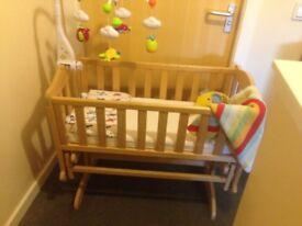 Gliding crib for sale