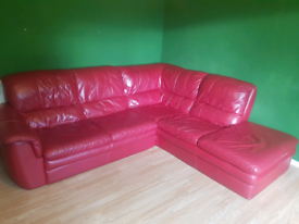 Leather Corner Sofa For Sale In Glasgow Sofas Couches Armchairs Gumtree