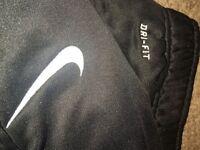 Nike dri-fit track pants.