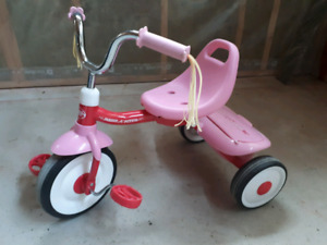Radio Flyer toddler girls tricycle