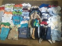0-3 baby boys bundle NEXT M&S F&F complete setup for a baby's wardrobe