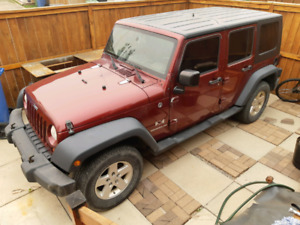 2008 Jeep Wrangler X Automatic 3.8 V6 5 Doors