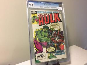 CGC 9.4 Incredible Hulk #271 - 1st App. Rocket Raccoon