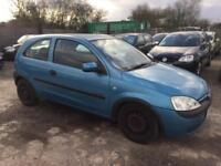 VAUXHALL CORSA 2002 1.4 MY COMFORT PETROL - AUTOMATIC - LOW MILEAGE - 1PRV OWNER