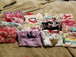Size 3 & 3-6 month girl clothes lot