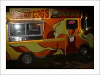 food truck, chip truck for hire, outdoor catering