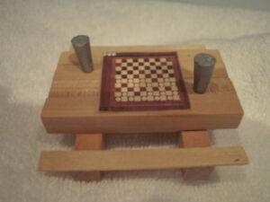 Village de Noel miniature et objets miniatures