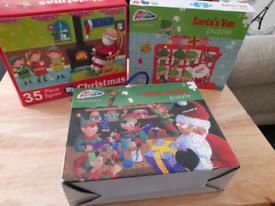 Christmas kids puzzles Free