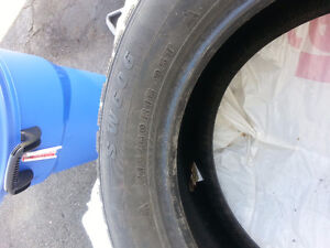 Four studded 215/60 R16 for sale