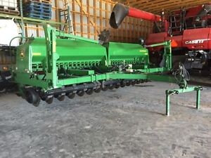 John Deere 1590 20' scales auger  no till drill sale/rental