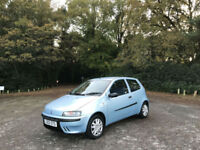 2003 Fiat Punto 1.2 Active 3 Door Hatchback Blue